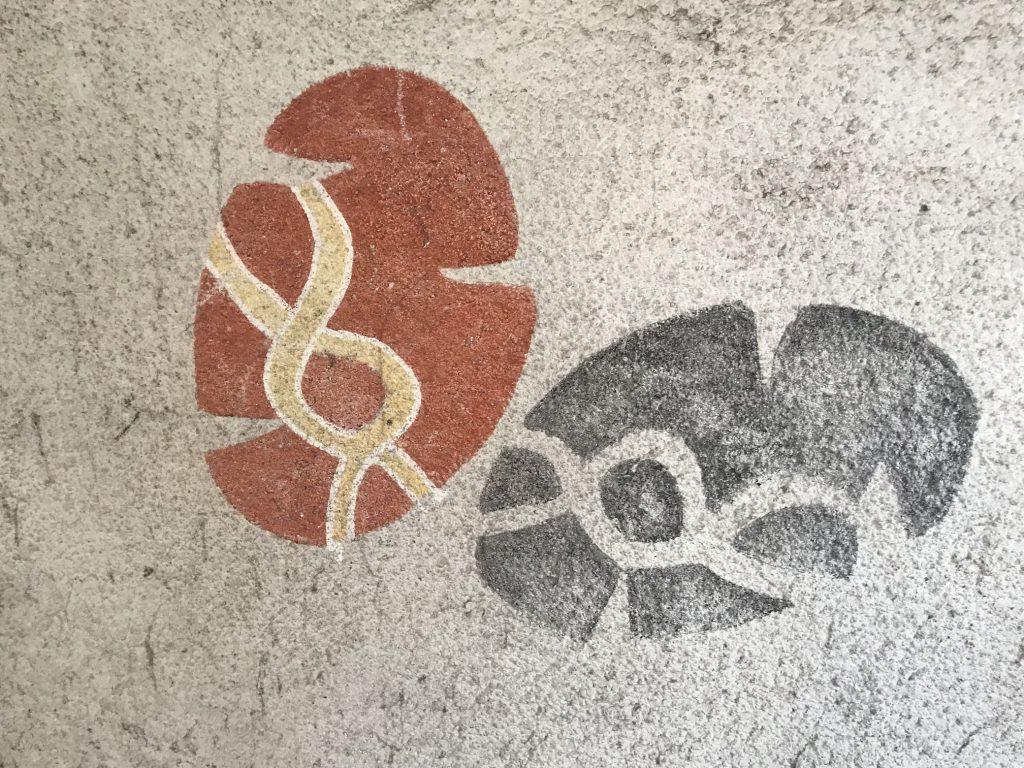 Kuva: Maalaus opintoputken seinässä, Helsingin yliopiston metroasema, © Marja Pirttivaara 2019